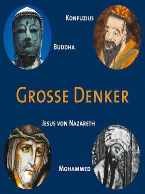cover image of CD WISSEN--Große Denker--Teil 01