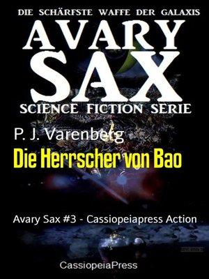 cover image of Die Herrscher von Bao