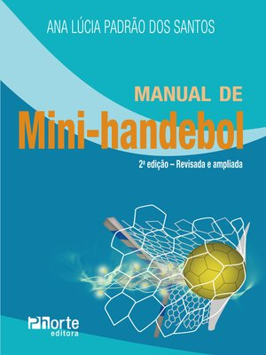 cover image of Manual de mini-handebol