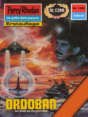 cover image of Perry Rhodan 1200