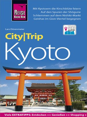 cover image of Reise Know-How CityTrip Kyoto