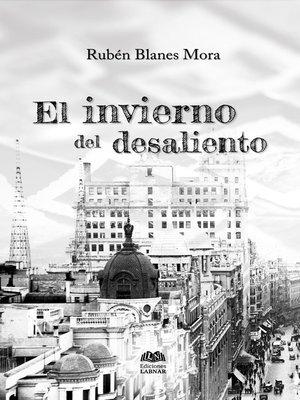 cover image of El invierno del desaliento