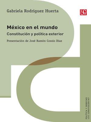 cover image of México en el mundo