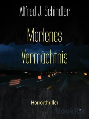 cover image of Marlenes Vermächtnis
