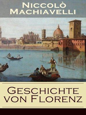 cover image of Geschichte von Florenz