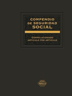 cover image of Compendio de Seguridad Social 2017