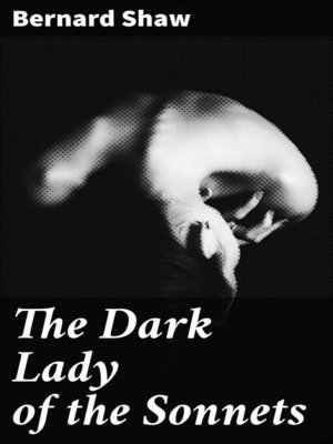 cover image of The Dark Lady of the Sonnets