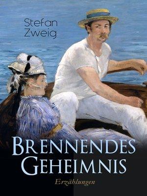 cover image of Brennendes Geheimnis. Erzählungen