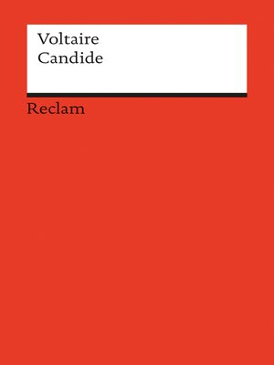 cover image of Candide ou l´Optimisme