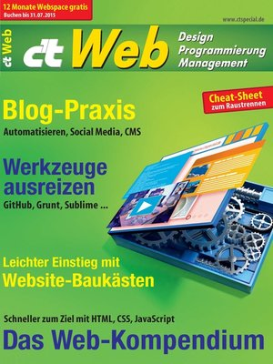cover image of c't Web 2015