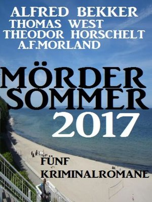 cover image of Mördersommer 2017