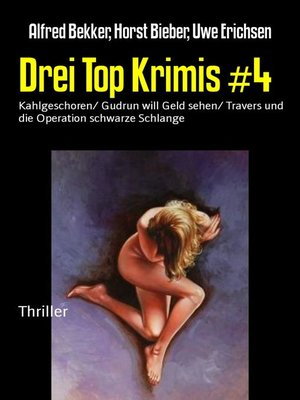 cover image of Drei Top Krimis #4