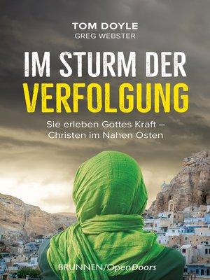 cover image of Im Sturm der Verfolgung