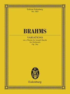 cover image of Variations on a Theme by Joseph Haydn
