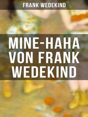 cover image of MINE-HAHA von Frank Wedekind