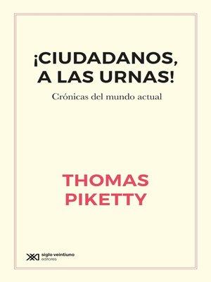 cover image of ¡Ciudadanos, a las urnas!