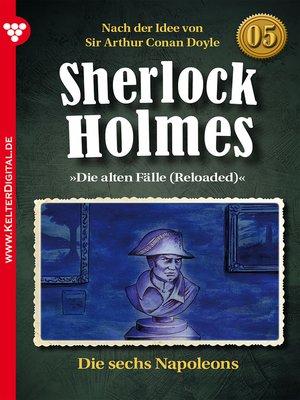 cover image of Sherlock Holmes 5 – Kriminalroman