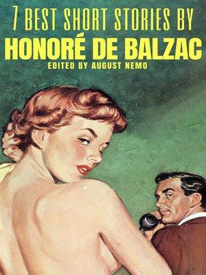 cover image of 7 best short stories by Honoré de Balzac