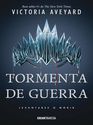 cover image of Tormenta de guerra