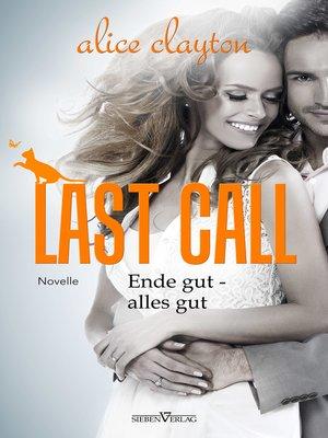 Last Call Alice Clayton Ebook