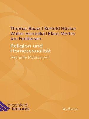 cover image of Religion und Homosexualität