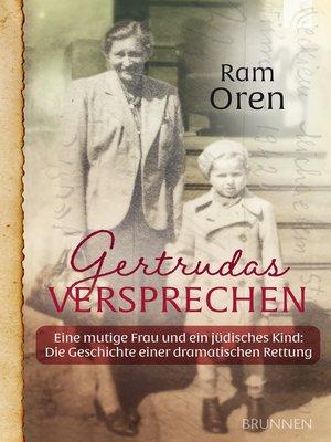 cover image of Gertrudas Versprechen