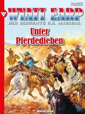 cover image of Wyatt Earp 221 – Western