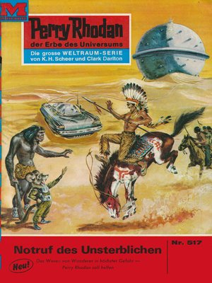 cover image of Perry Rhodan 517