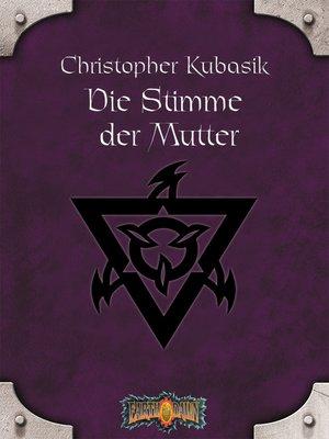 cover image of Die Stimme der Mutter