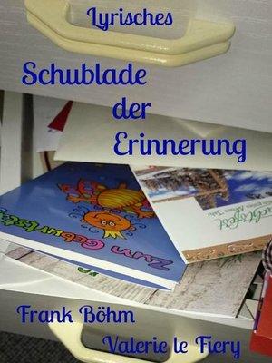 cover image of Schublade der Erinnerung