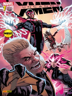 cover image of Uncanny X-Men 1--Magnetos Rache