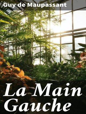 cover image of La Main Gauche