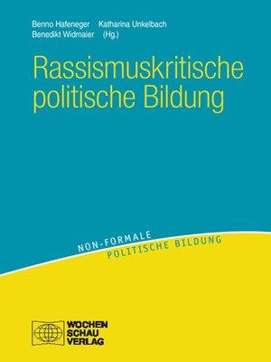 cover image of Rassismuskritische politische Bildung