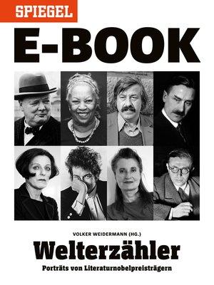 cover image of Welterzähler--Literaturnobelpreisträger im Porträt