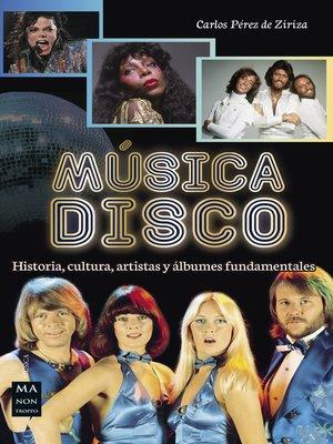 cover image of Música disco