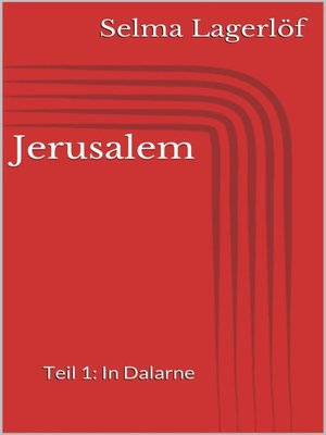 cover image of Jerusalem, Teil 1