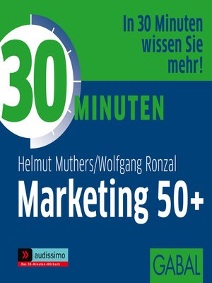cover image of 30 Minuten Marketing 50+