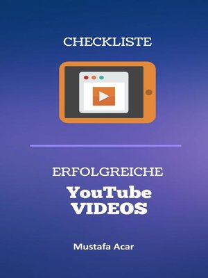cover image of Checkliste – Erfolgreiche YouTube Videos