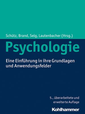 cover image of Psychologie