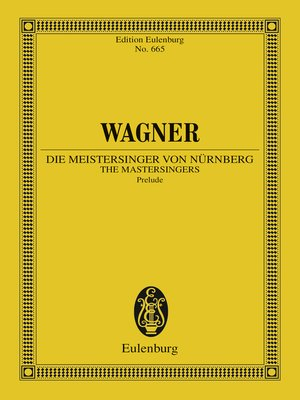 cover image of The Mastersingers of Nuremberg