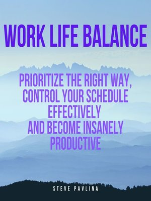 cover image of Work Life Balance