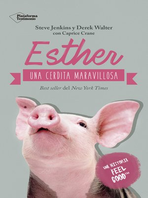 cover image of Esther, una cerdita maravillosa