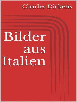 cover image of Bilder aus Italien