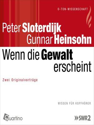 cover image of Wenn die Gewalt erscheint
