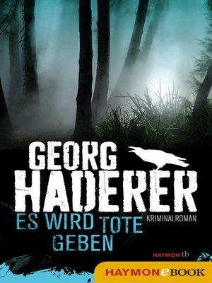 cover image of Es wird Tote geben