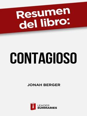 "cover image of Resumen del libro ""Contagioso"" de Jonah Berger"