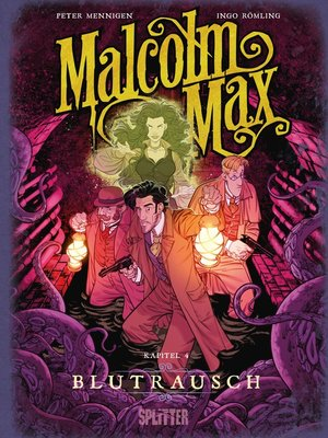 cover image of Malcolm Max. Band 4