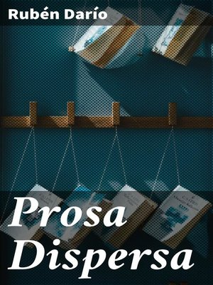 cover image of Prosa Dispersa