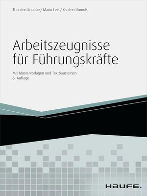 cover image of Arbeitszeugnisse für Führungskräfte--inkl. Arbeitshilfen online
