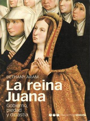cover image of La reina Juana